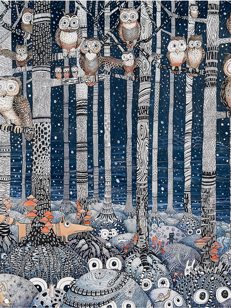 Owl Forest by Ruta
