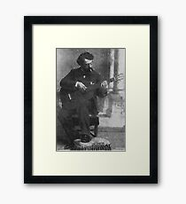 Francisco Tárrega - Brilliant Guitarist and Composer Framed Print