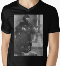 Francisco Tárrega - Brilliant Guitarist and Composer Men's V-Neck T-Shirt