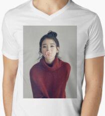 IU Men's V-Neck T-Shirt