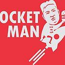 Rocket Man - Kim Jong-Un by CentipedeNation