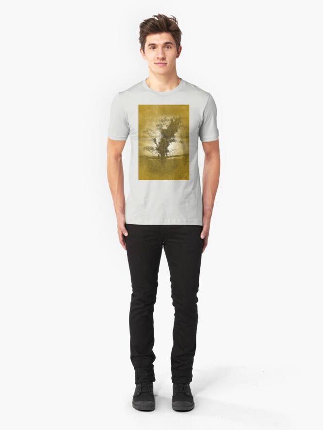 Alternate view of I'm Leaning Towards the Dunes Slim Fit T-Shirt