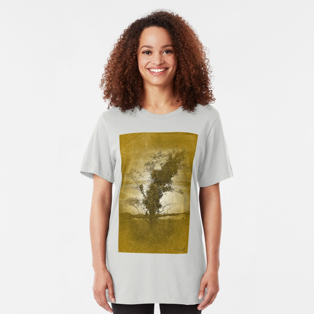 I'm Leaning Towards the Dunes Slim Fit T-Shirt
