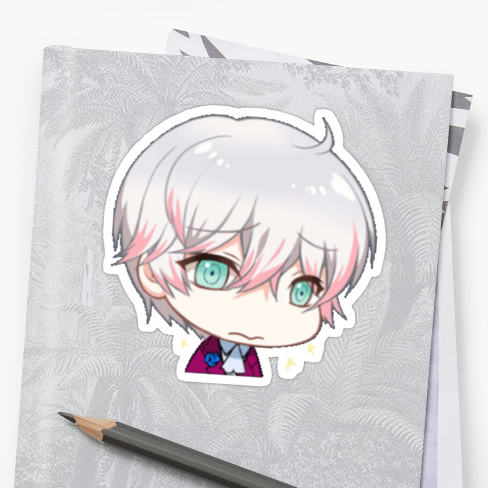 Quot Mystic Messenger Ray Quot Sticker By Batterpaw Redbubble