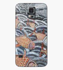 Gold fish Case/Skin for Samsung Galaxy