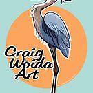 Bird. Great Blue Heron CWA. by CraigWoida