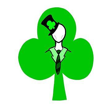 Irish Slenderman by thombears