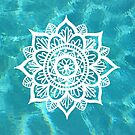 Water Mandala by julieerindesign