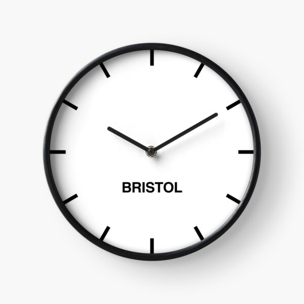 Bristol Time Zone Newsroom Wall Clock  Clock