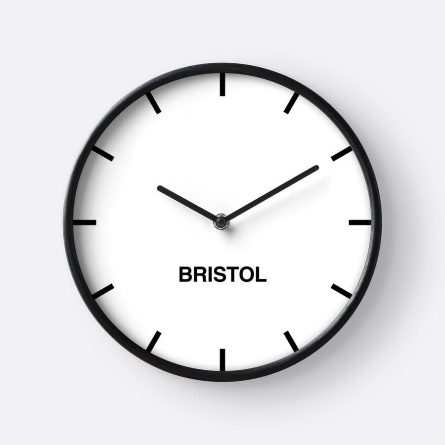 Quot Bristol Time Zone Newsroom Wall Clock Quot Clocks By