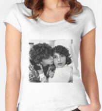 Finn Wolfhard & Jack Grazer Women's Fitted Scoop T-Shirt