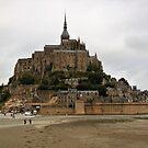 Mont Saint-Michel by Elena Skvortsova