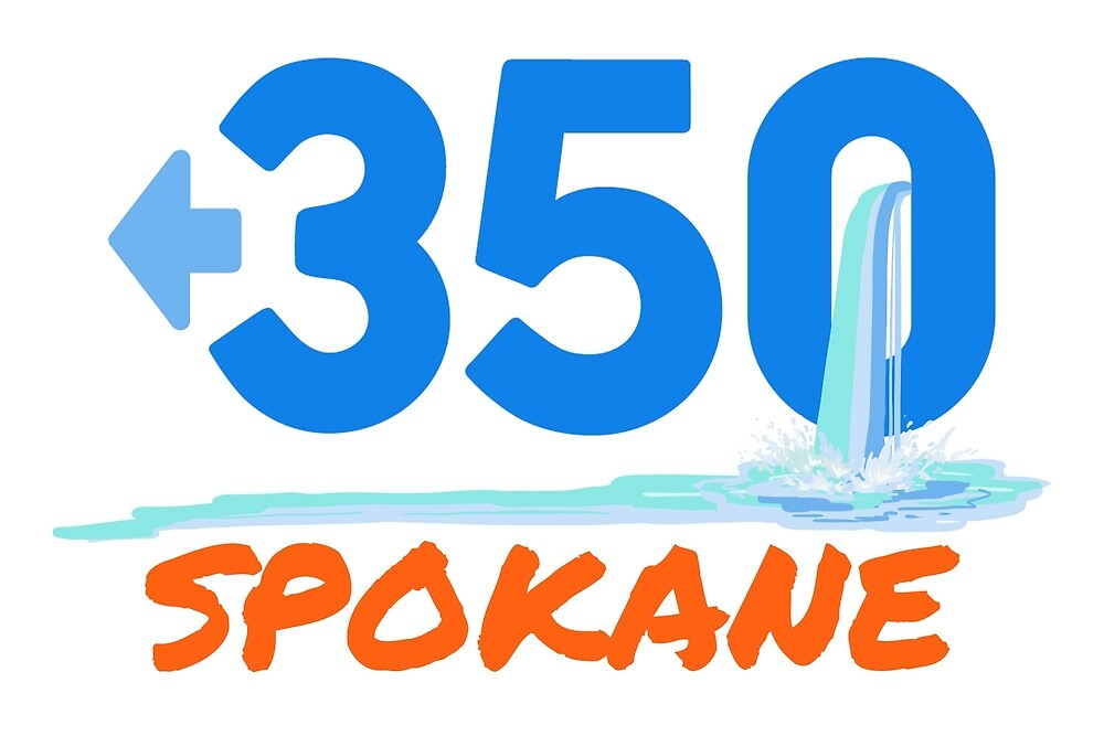 Official 350 Spokane Logo by 350Spokane