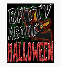 BATTY ABOUT HALLOWEEN Photographic Print