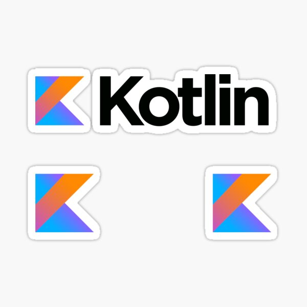kotlin sticker set Pegatina