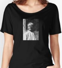 Hermann Hesse - black and white Women's Relaxed Fit T-Shirt
