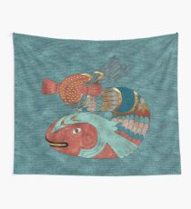 Fish Folk Wall Tapestry