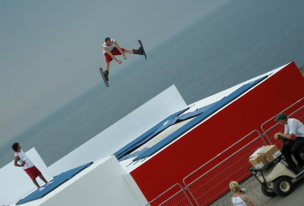 skijumper by HandofTamm