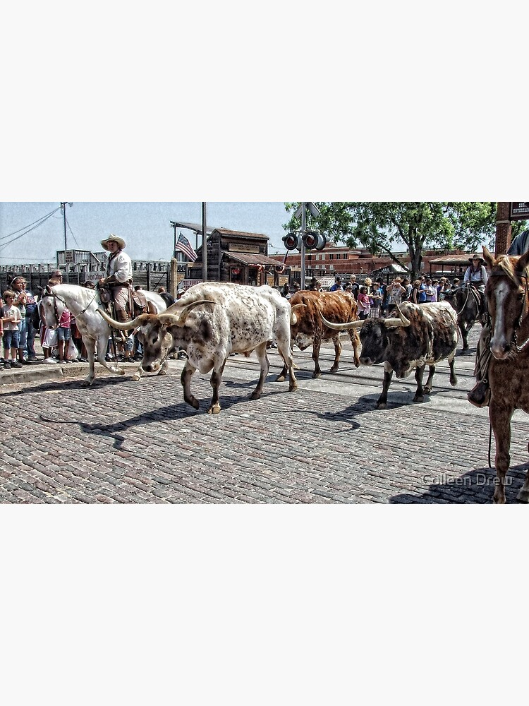 The Cattle Drive by colgdrew