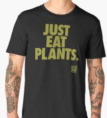 Just Eat Plants. Men's Premium T-Shirt