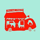 Cool Red Food Truck! by mellowdays