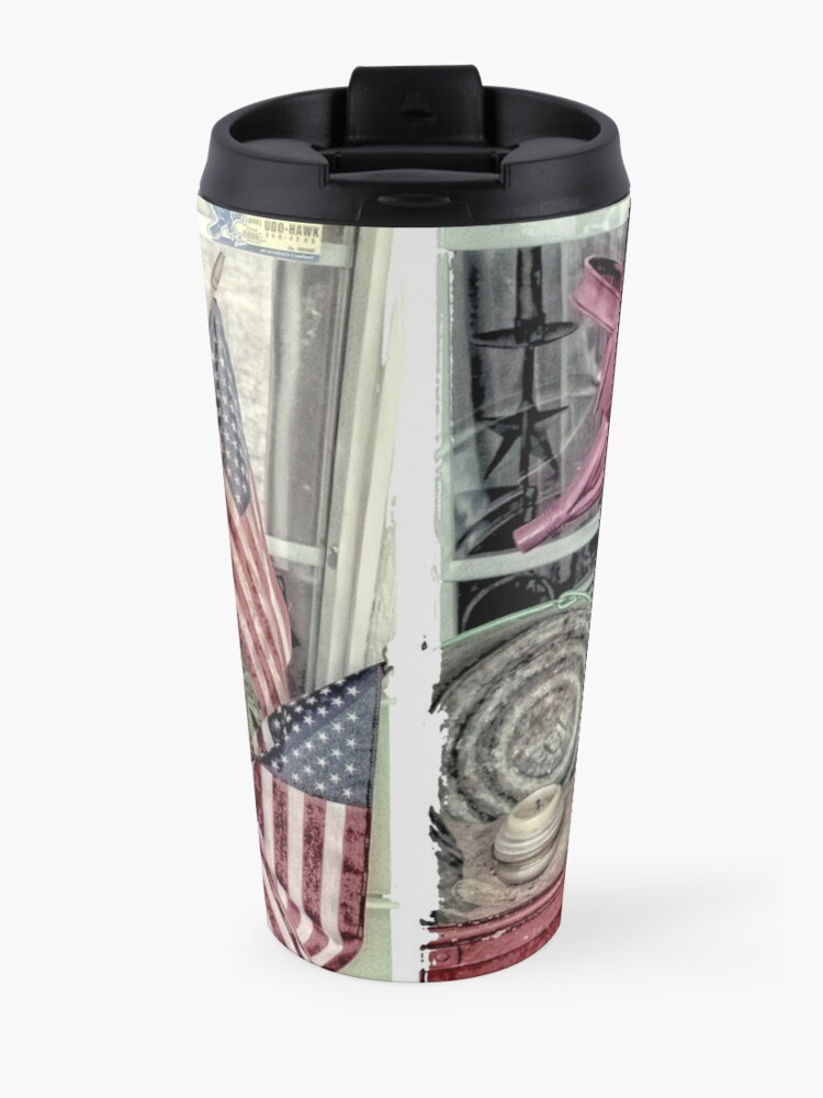 Alternate view of Patriotic Travel Mug