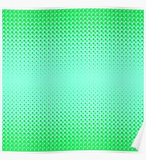 Halftone Patterns. Set of Halftone Dots. Dots on Green Background. Halftone Texture. Halftone Dots. Halftone Effect. Poster