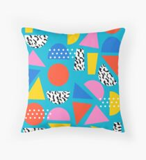 Airhead - memphis retro throwback minimal geometric colorful pattern 80s style 1980's Floor Pillow
