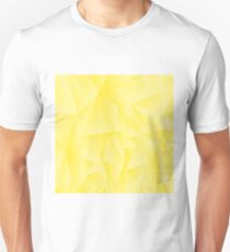 Abstract Yellow Polygonal Background. Abstract Yellow Polygonal Pattern T-Shirt