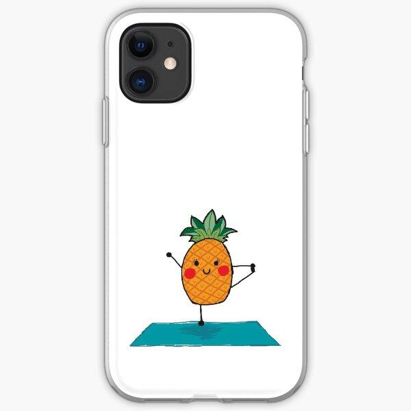 Yogi Pineapple iPhone Soft Case