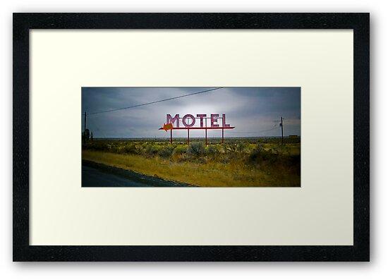 motel by Bruce  Dickson