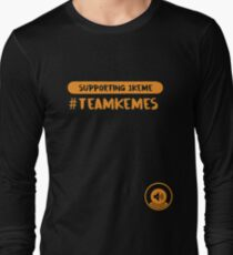 #TeamKemes Charity t-shirt Long Sleeve T-Shirt