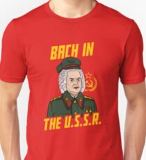 Bach In The USSR T-Shirt
