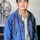 portrait of 冉 茂芹 Mau-kun Yim by Hidemi Tada