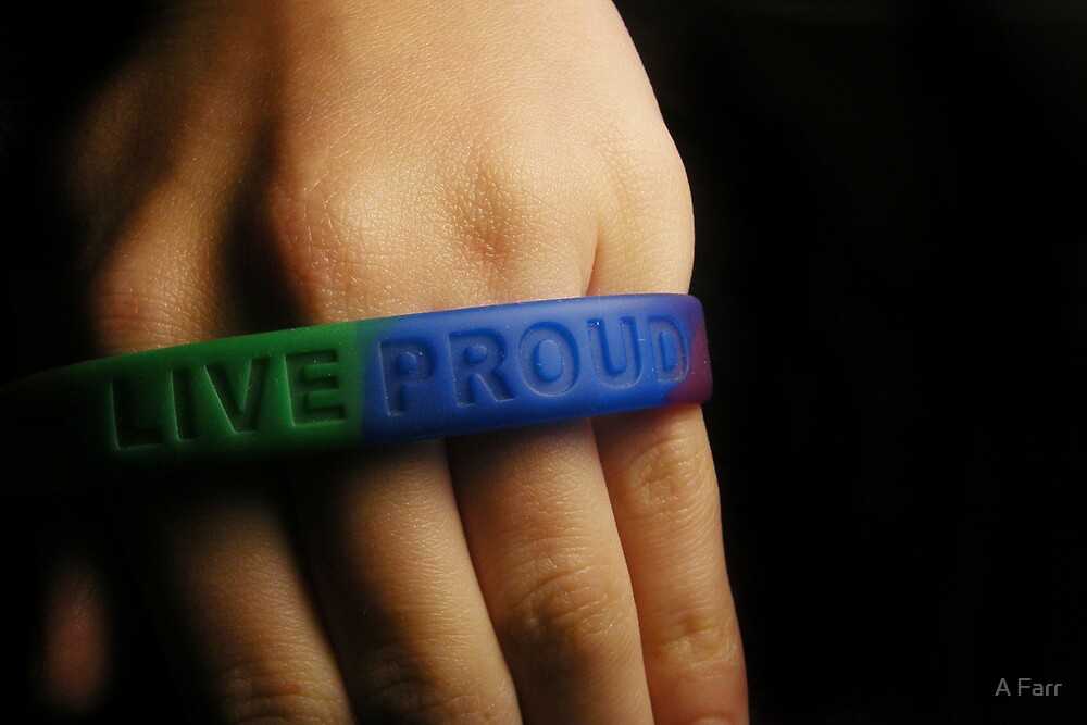 Live Proud II by A Farr