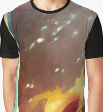 Nature Tone Abstract Graphic T-Shirt