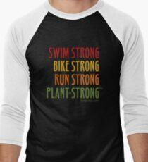Tri-Strong Men's Baseball ¾ T-Shirt