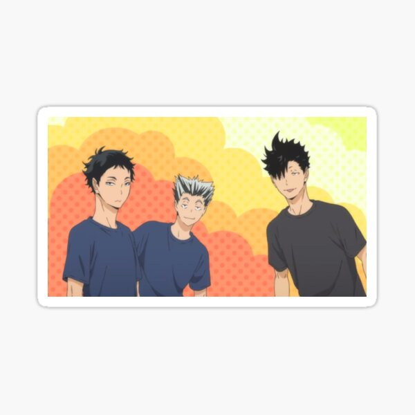 Haikyuu!! Oya x3 Sticker