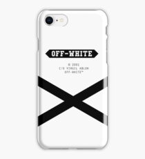 Off-White X iPhone Case/Skin