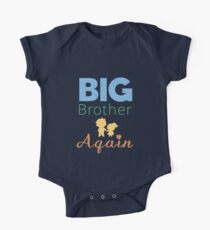 Big Brother Again Baby Announcement  Kids Clothes