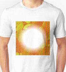 Autumn Leaves Background. Set of Yellow and Orange Leaves T-Shirt