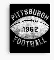 Vintage Football Shirt Canvas Print
