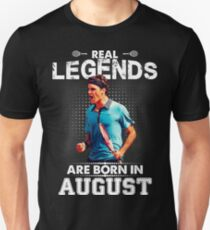 Roger Federer August Legend Tshirt Slim Fit T-Shirt