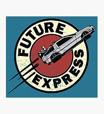 Future Express Photographic Print
