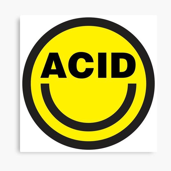 Maison acide Impression sur toile