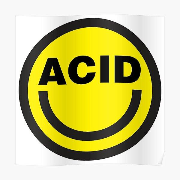 Maison acide Poster
