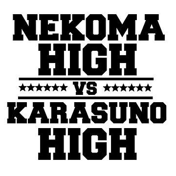 HAIKYUU! NEKOMA VS KARASUNO by ChiharuFinn
