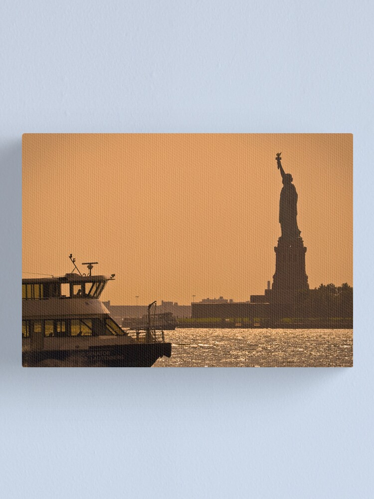 Alternate view of Statue of Liberty - New York City Canvas Print