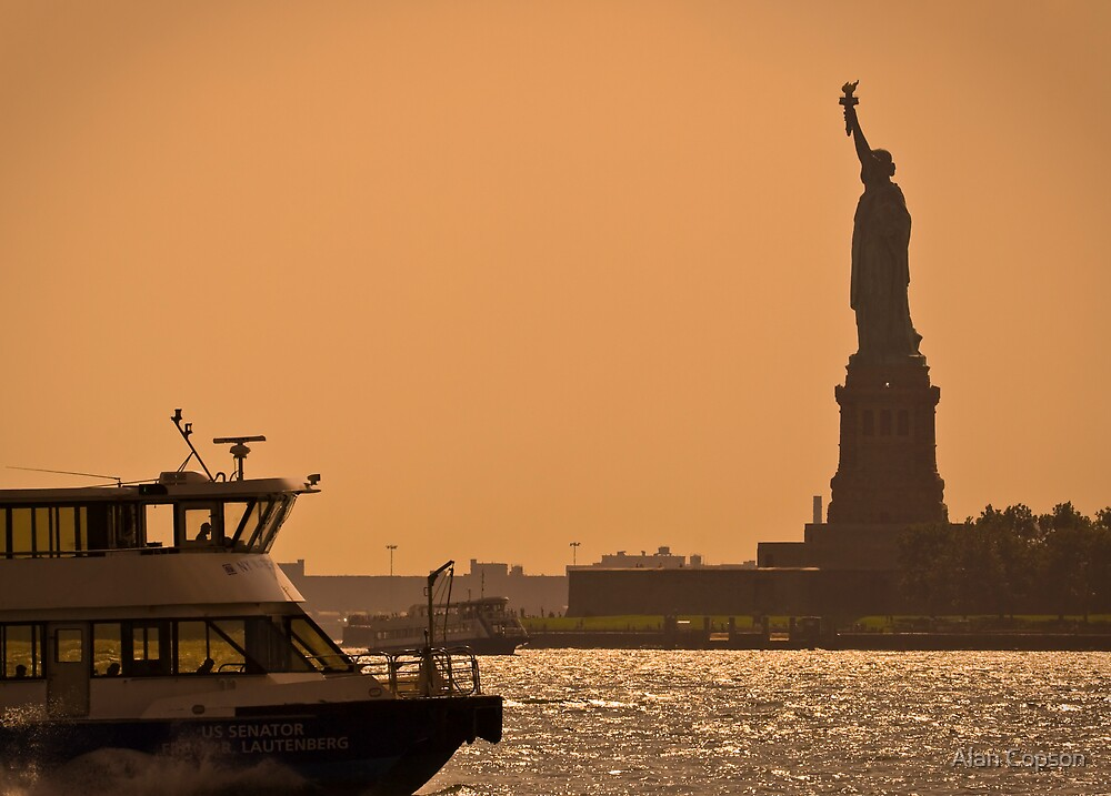 Statue of Liberty - New York City by Alan Copson