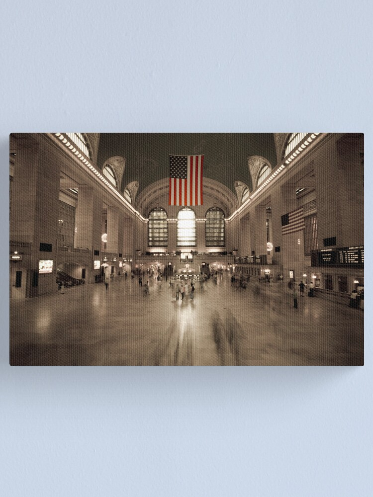 Alternate view of Grand Central Station - New York City Canvas Print